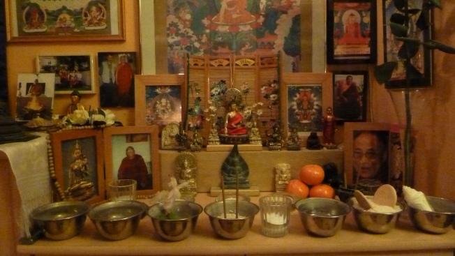 Tara Puja voor Geshela 7 maart 2012