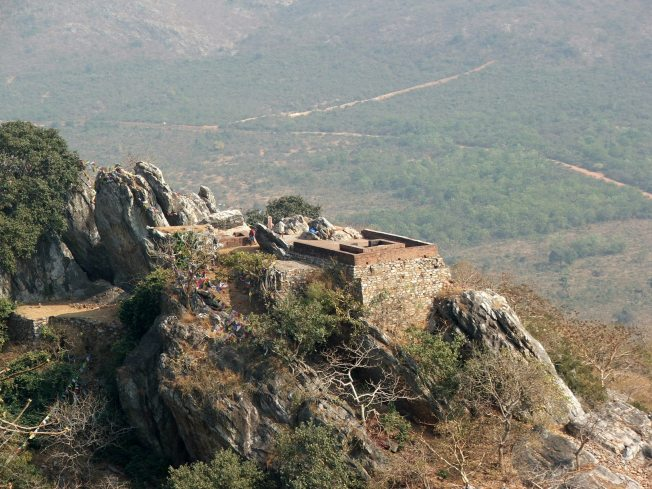 Vulturepeak near Rajgir where Buddha lived and thaught