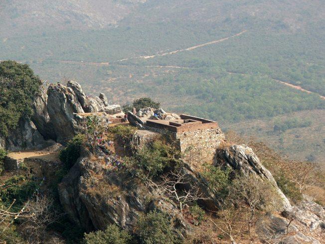 Vulturepeak near Rajgir where Buddha lived and thaught