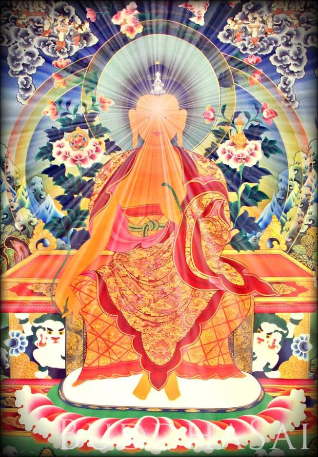 Maitreya is a Bodhisattva who in the Buddhist tradition, is to appear on Earth, achieve complete enlightenment, and teach the pure dharma. According to scriptures, Maitreya will be a successor of the historic Śākyamuni Buddha.